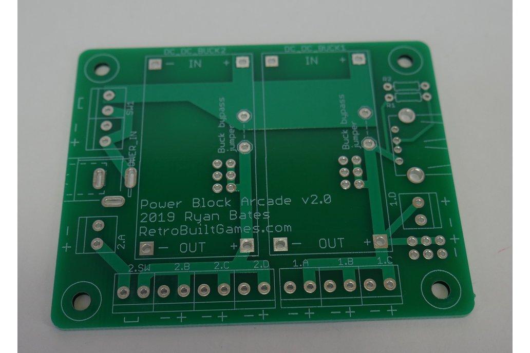 Power Block Arcade DUAL PCB 1