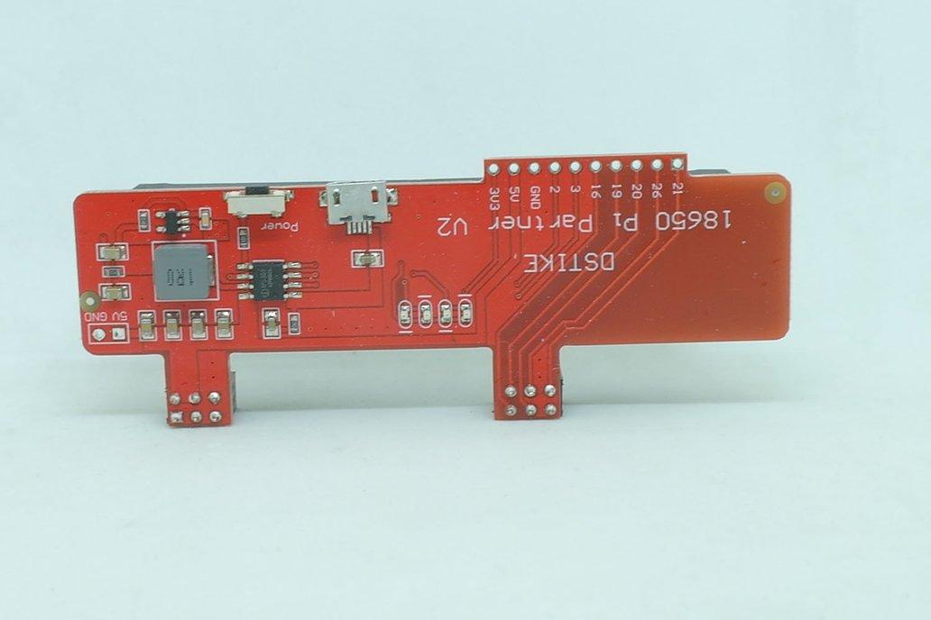 DSTIKE 18650 Pi Partner V2 2