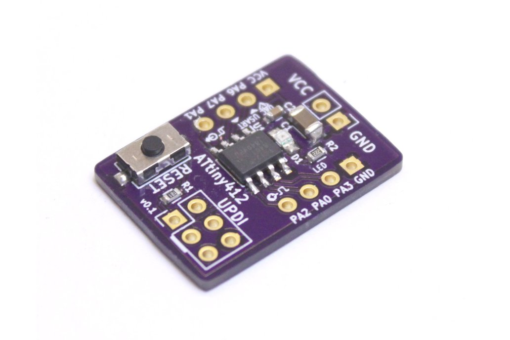 ATtiny412 Development Board 1