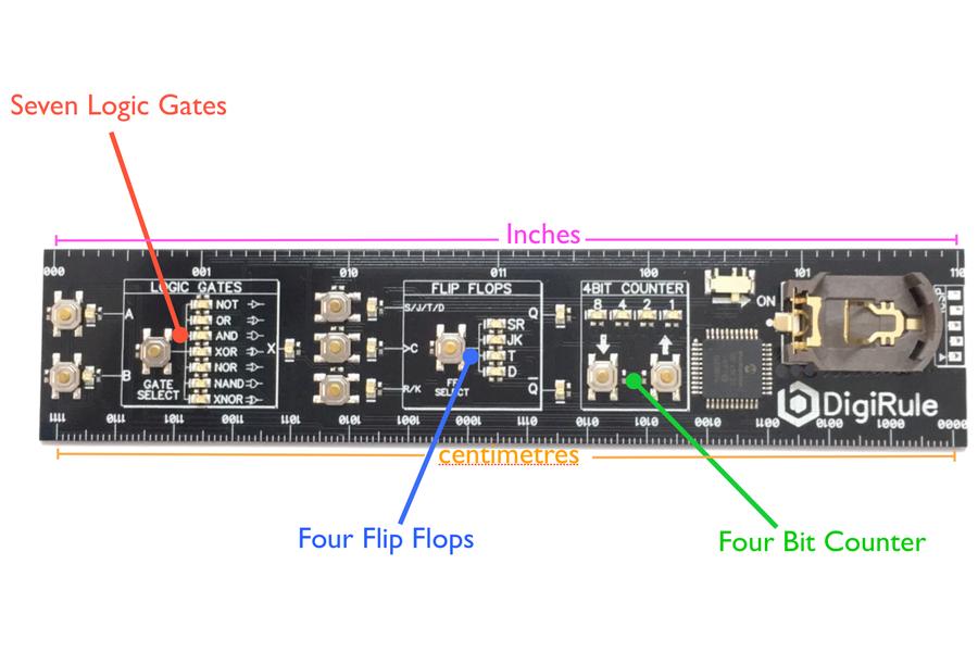 Digirule - The Interactive Binary Ruler!