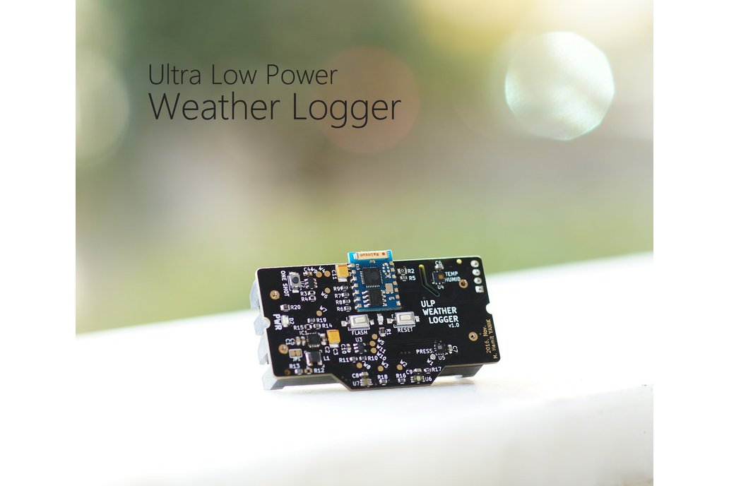 ULP Weather Logger with ESP8266 (WiFi, IoT) 2