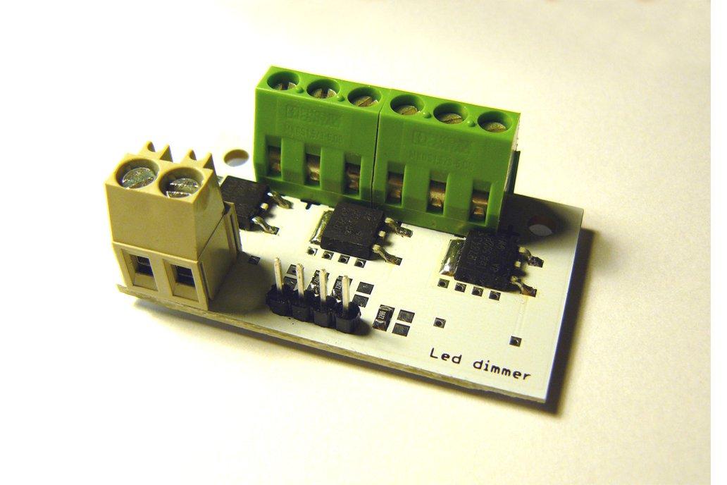 Power led dimmer for Arduino, etc 1