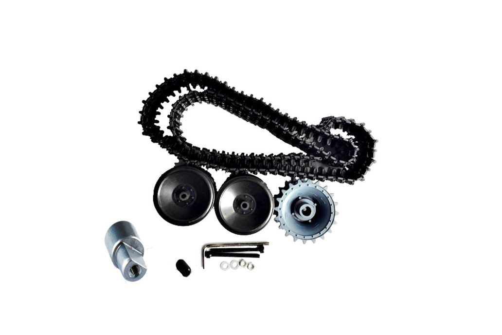 Plastic Track Wheel Kit for Tank Chassis 2