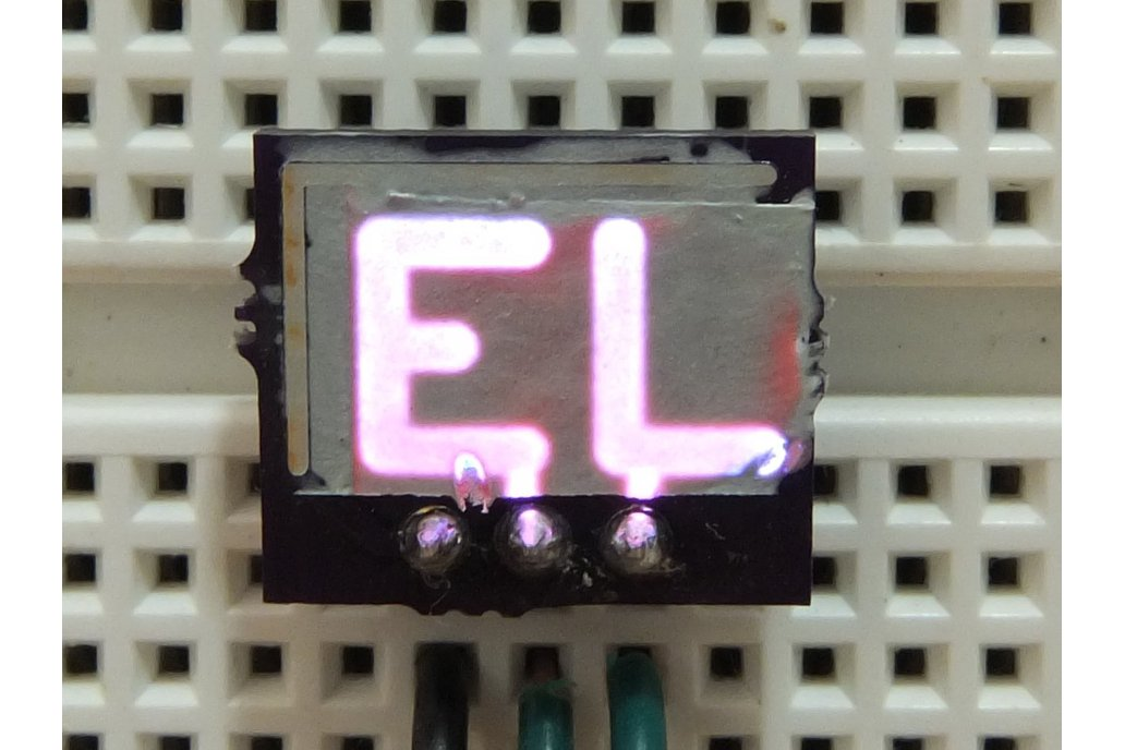 EL Display on PCB Kit 1