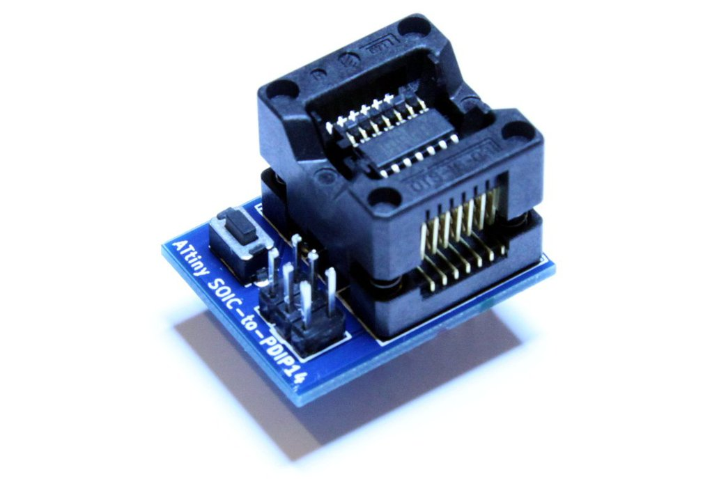 ATtiny 14pin SOIC-to-PDIP adapter 2