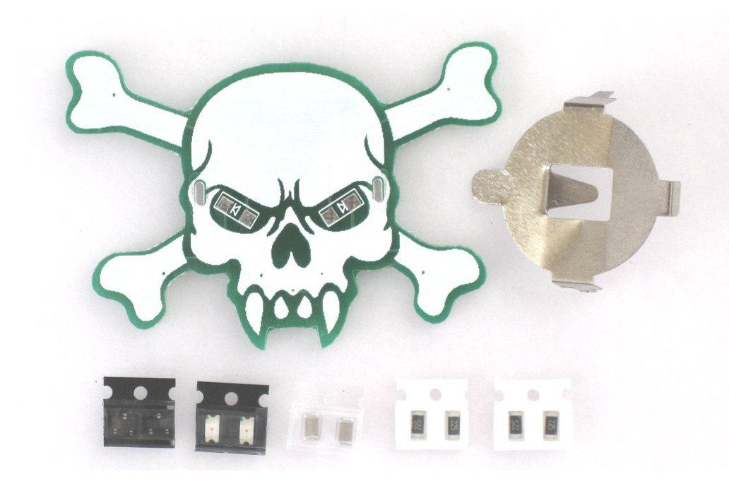 SMD Training Skull KIT 1