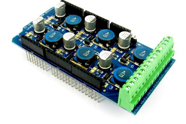 6 Channel LED Shield for Arduino (0,35-0,7-1A)
