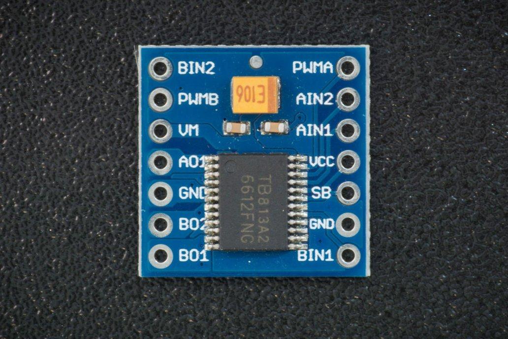 TB6612FNG H-bridge driver 1