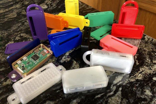 Zephirum - a 3D printed RaspberryPi Zero case