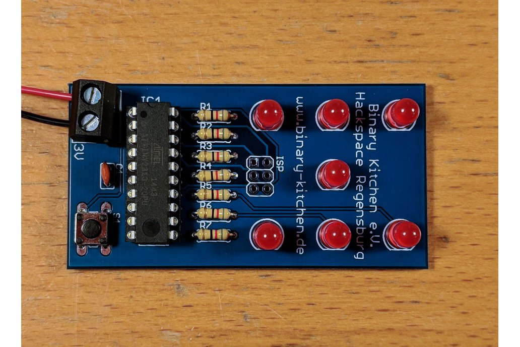 Dice with Microcontroller - A Simple Solder Kit 1
