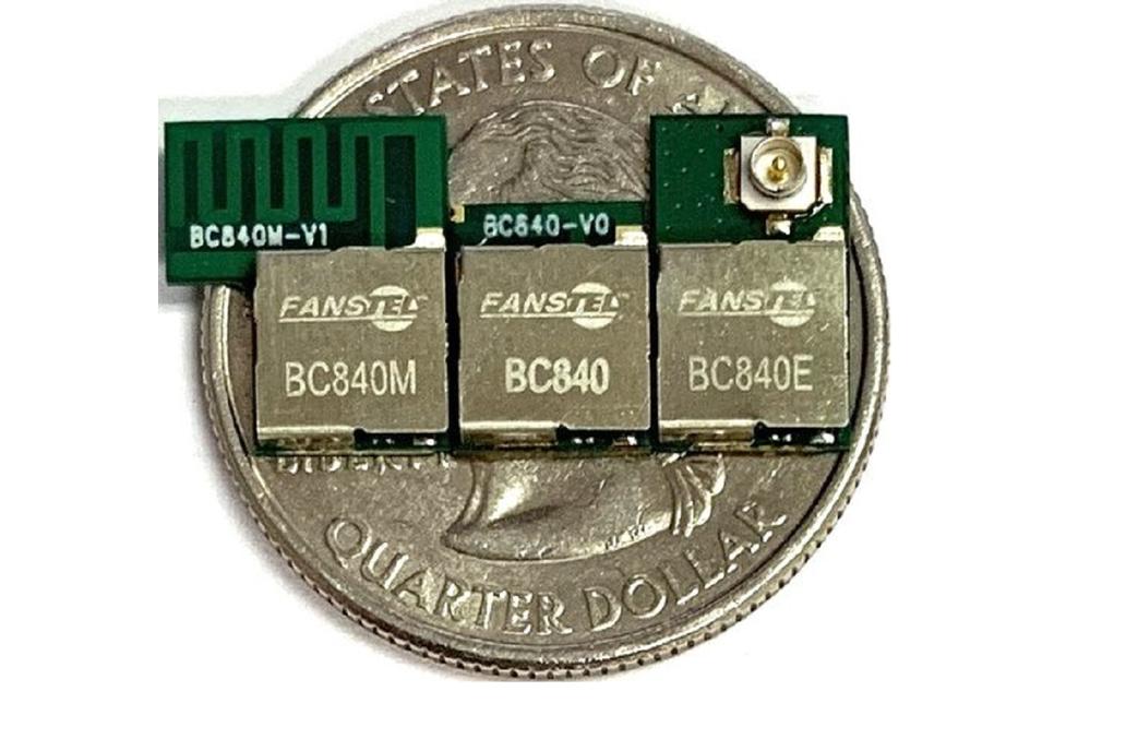 BC840M, Compact, long range Bluetooth 5 Module 1