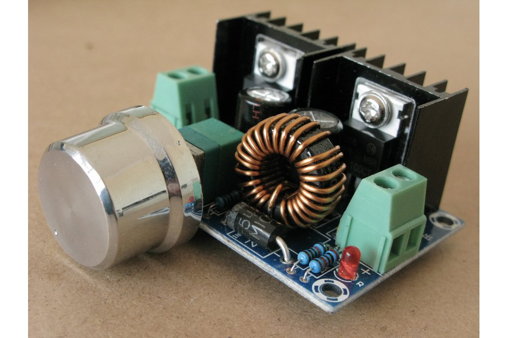 Precise POWER SUPPLY adjustable OUT 1V to 36V 200W 1
