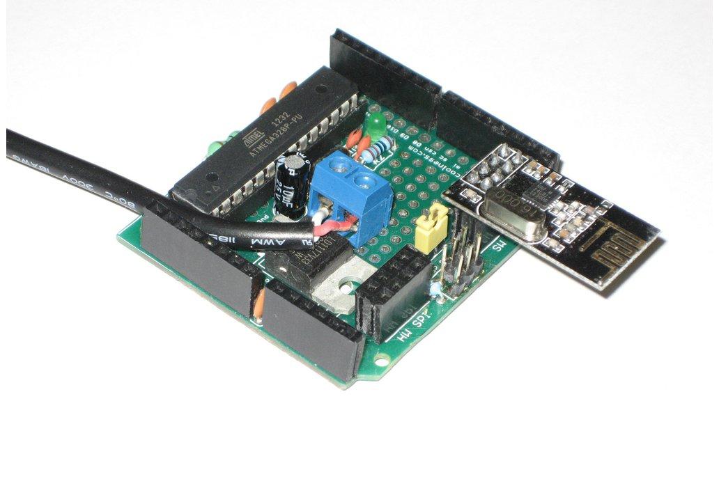 RFX 328p dev/dep board w/ nRF24L01+ headers (Kit) 1