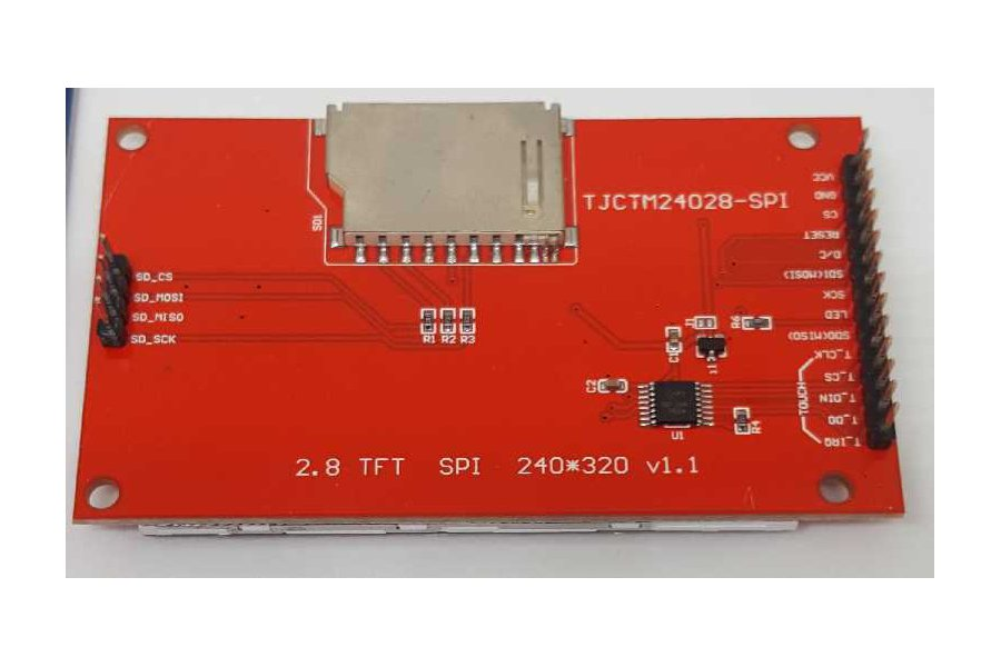"""Display Stick for a 2.8"""" Display and Photon"""