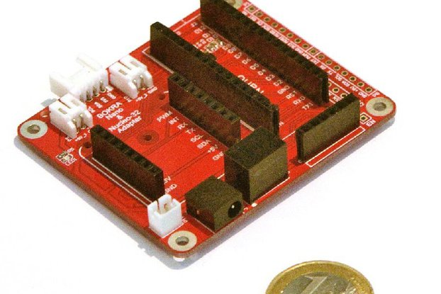 Adapter for Arduino Nano & Nucleo-32 modules