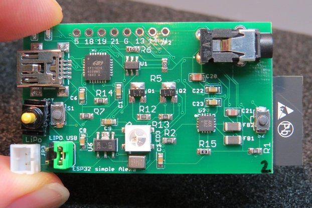 ESP32 simple Alexa_bis