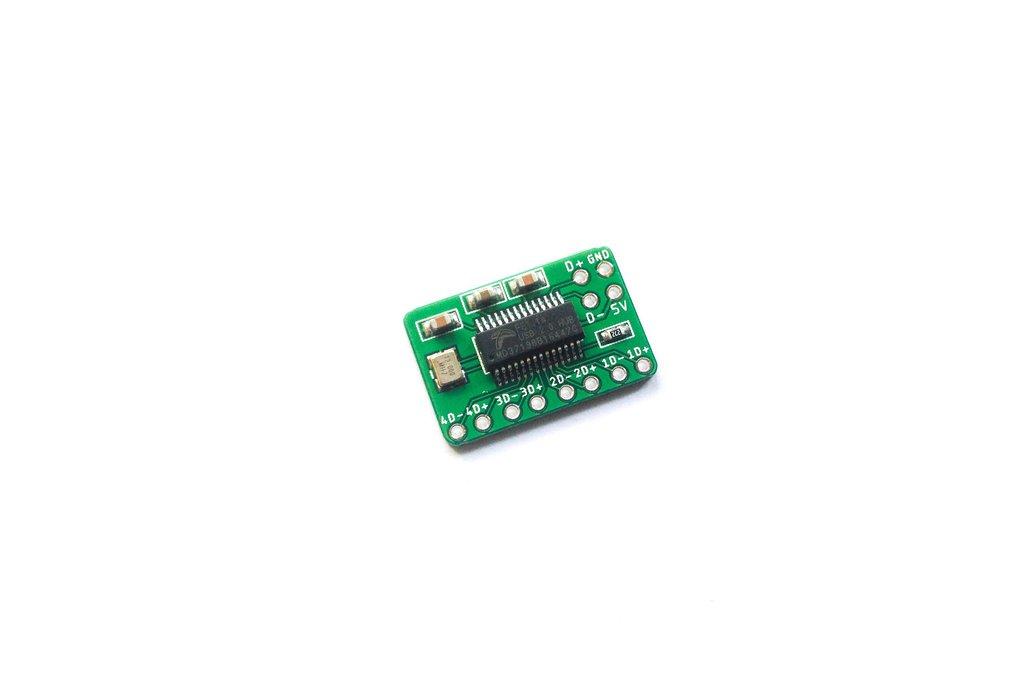 tinkerBOY 4-Port USB Hub Breakout Board 1