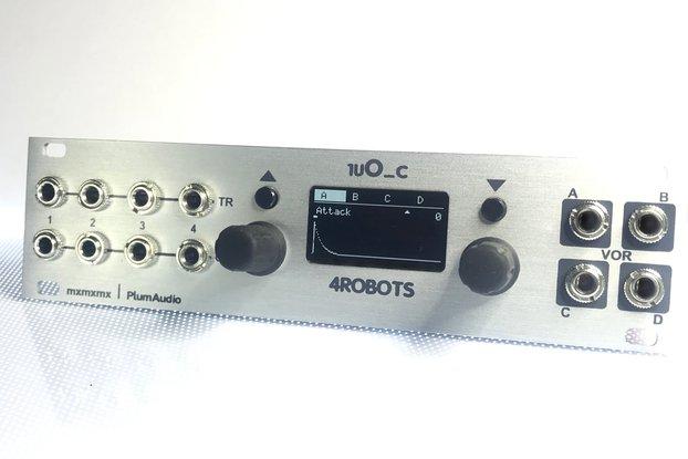 1uO_c 4ROBOTS - OC for Intellijel 1u - Eurorack