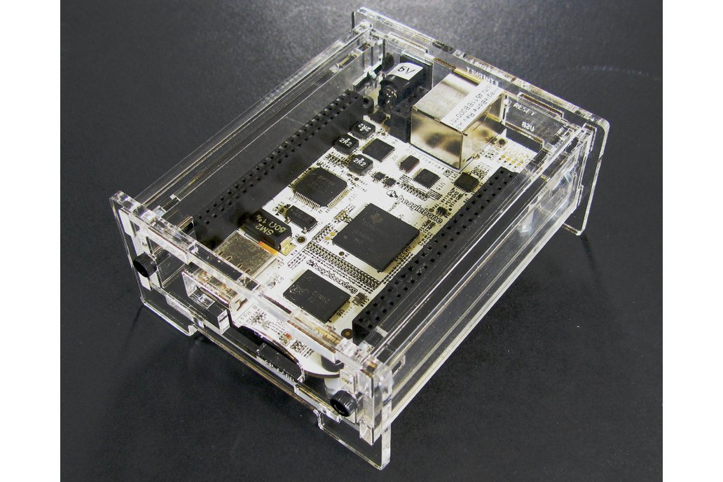 BeagleBone Black Enclosure - Clear Acrylic 5