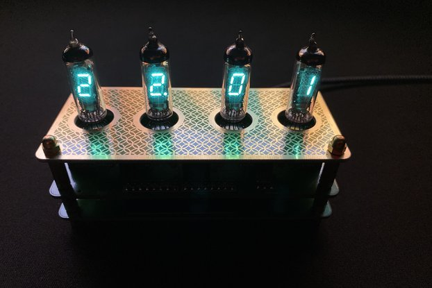 IV3 Tube Clock Kit