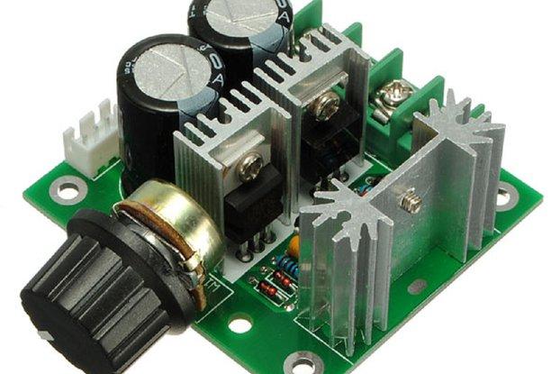 12V-40V 10A Modulation PWM DC Motor Speed Control