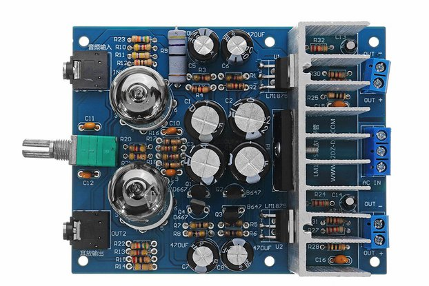 Tube Power Digital Amplifier Board