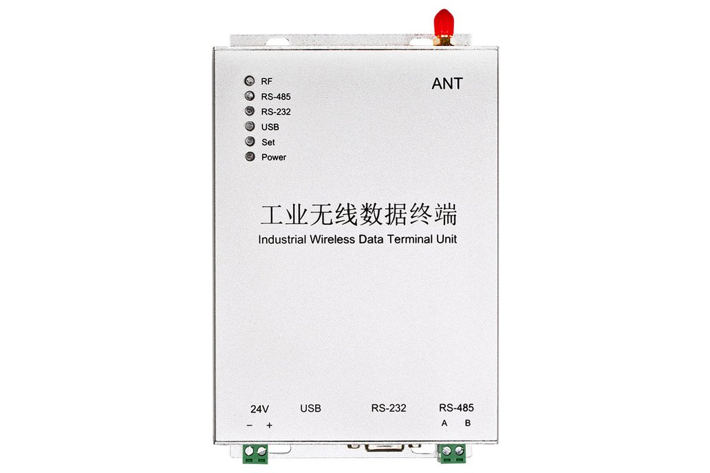 5W wireless DTU for SCADA 10km data transfer 1