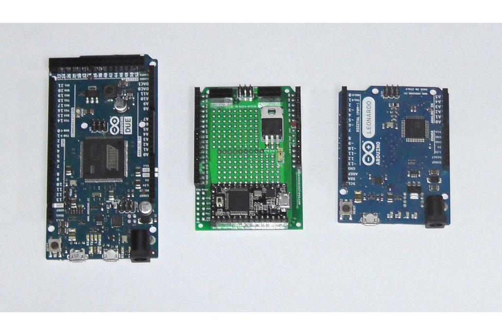 Teensy 3/LC Proto board, Arduino Shield, nRF24L01+ 7