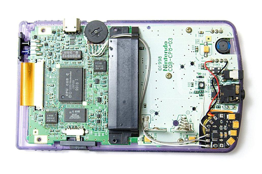 GBAmp3 sound mod for Game Boy 5