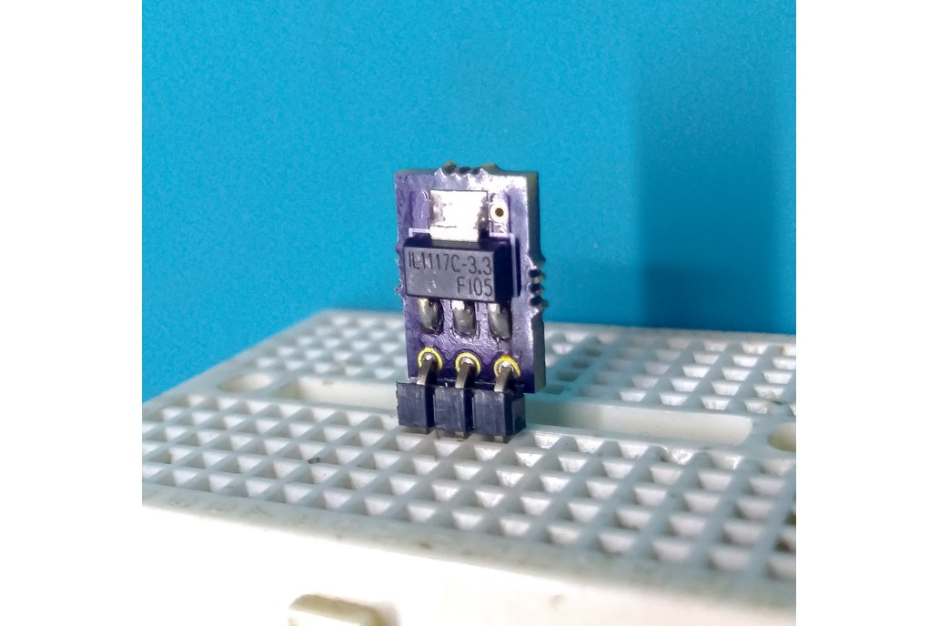 Breadboard compatible 3.3V regulator (AMS1117-3.3) 1