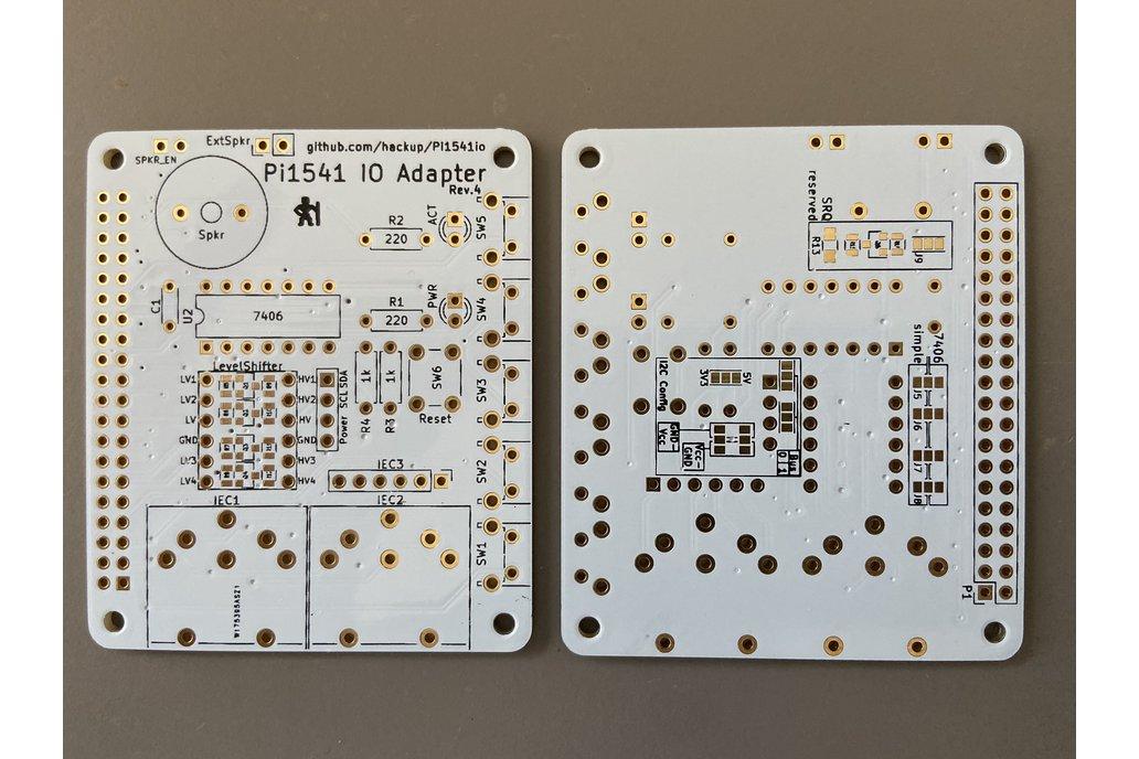 Commodore floppy drive emulator Pi1541 bare PCB 1
