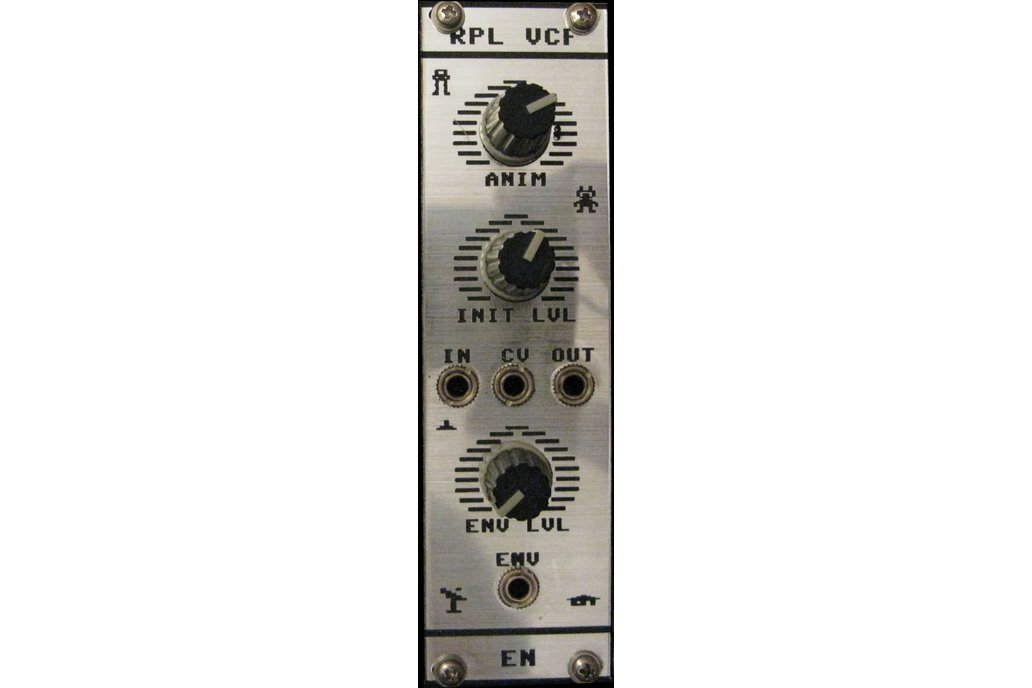 High-Ripple VCF Eurorack Module PCB/Kit 1