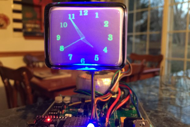 Mini Oscilloscope Clock 6Lo1i Cathode Ray Tube CRT