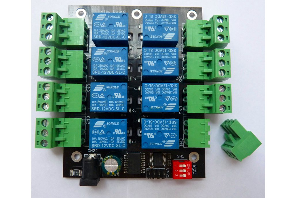 8-channel relay board for Raspberry Pi and Arduino 1