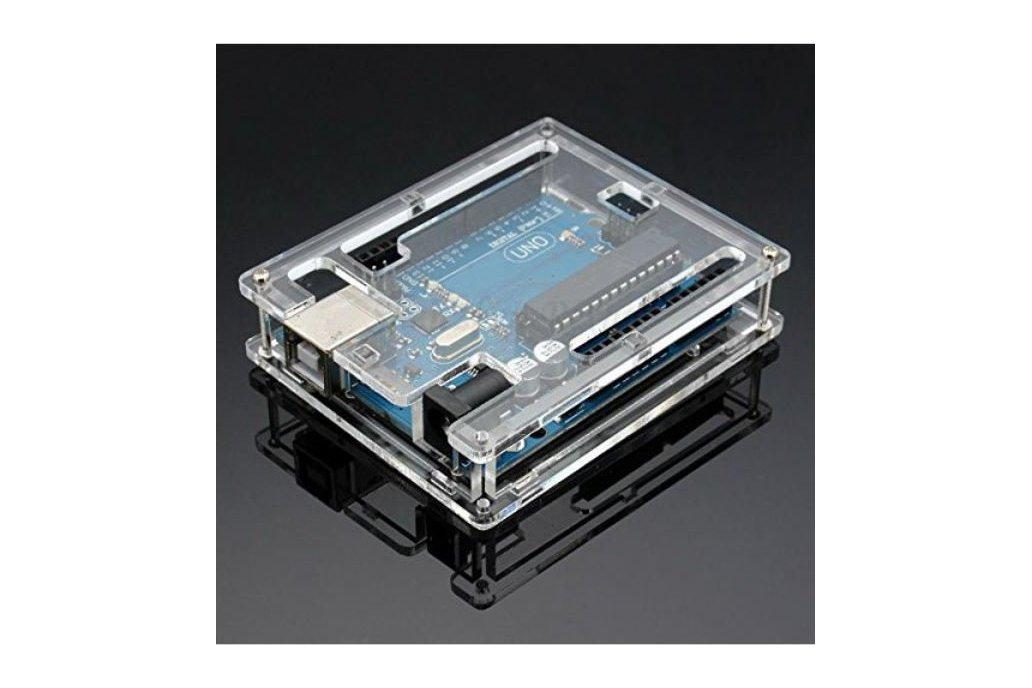 Transparent Enclosure for Arduino Uno 1