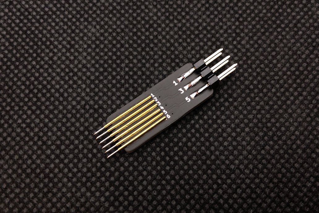 Pogo Pin Adapter with 1.27 mm pitch 1