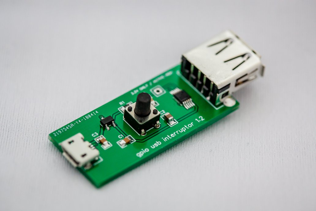 GPIO USB signal wedge - D+/D- interruptor 2