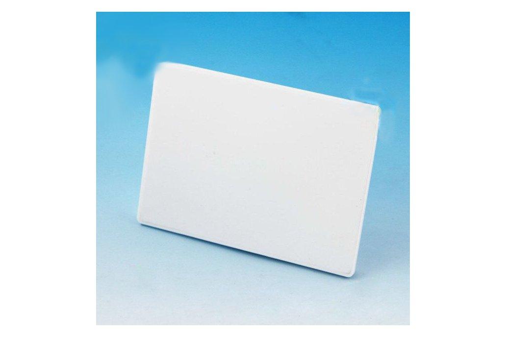 Waterproof card beacon with Eddystone and iBeacon 1