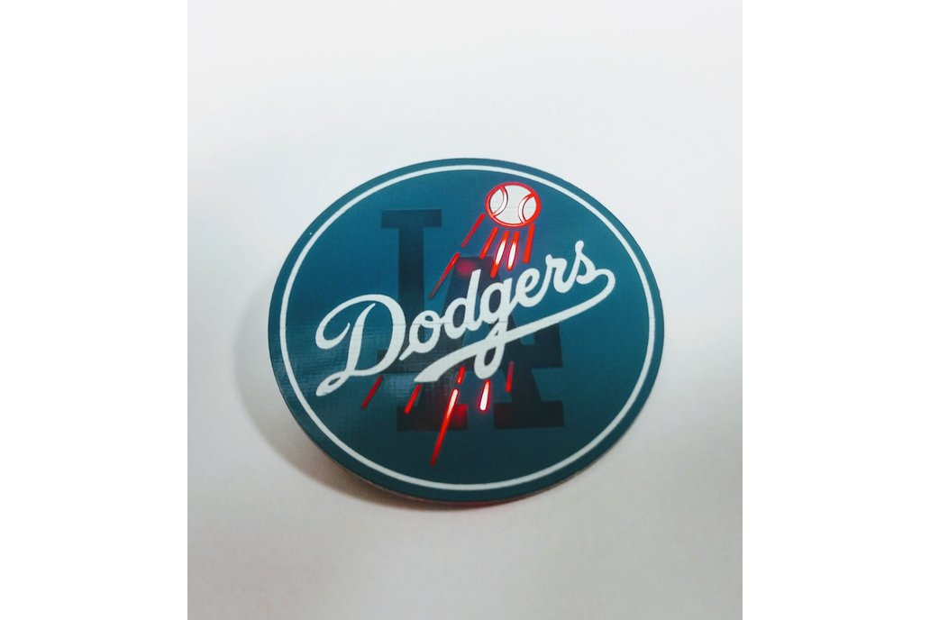 PCB Dodgers Pin 1