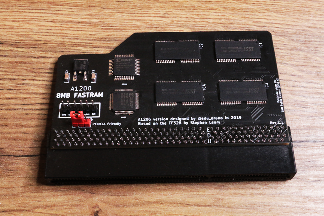 A1200 8MB FastRAM expansion for Amiga 1200   ram 1