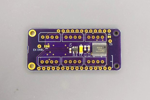 6 Ch 24 bit Full Bridge Sensor FeatherWing