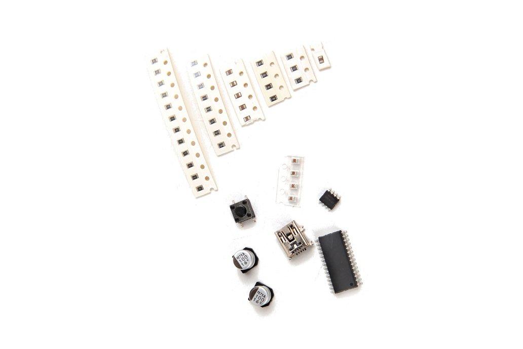 LED Flashing Music Spectrum & DIY Amp Speaker Kit 6