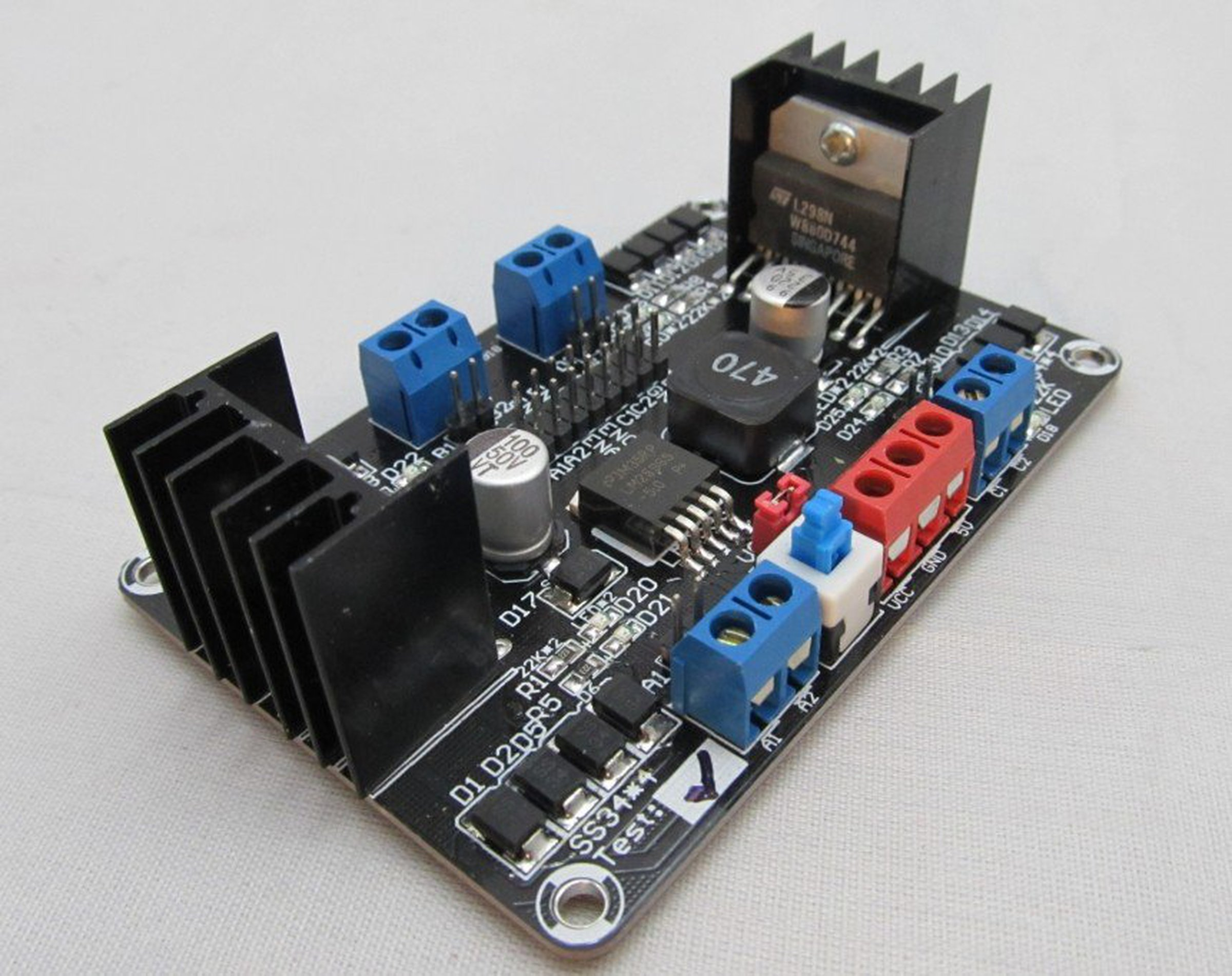 4dc Motor Controller For 4wd Robot Chassis From Mhobbies