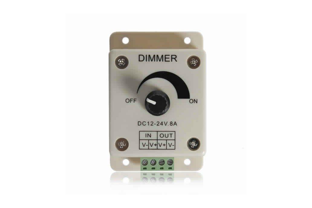 LED Light Dimmer Brightness Adjustable Control  4