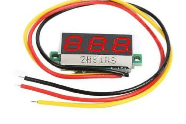 "0.28"" DC 0-100V 3 Wires Mini Digital LED Display"