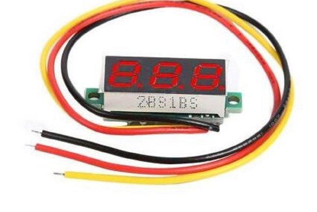 "0.28"" DC 0-100V 3 Wires Mini Digital LED Display"