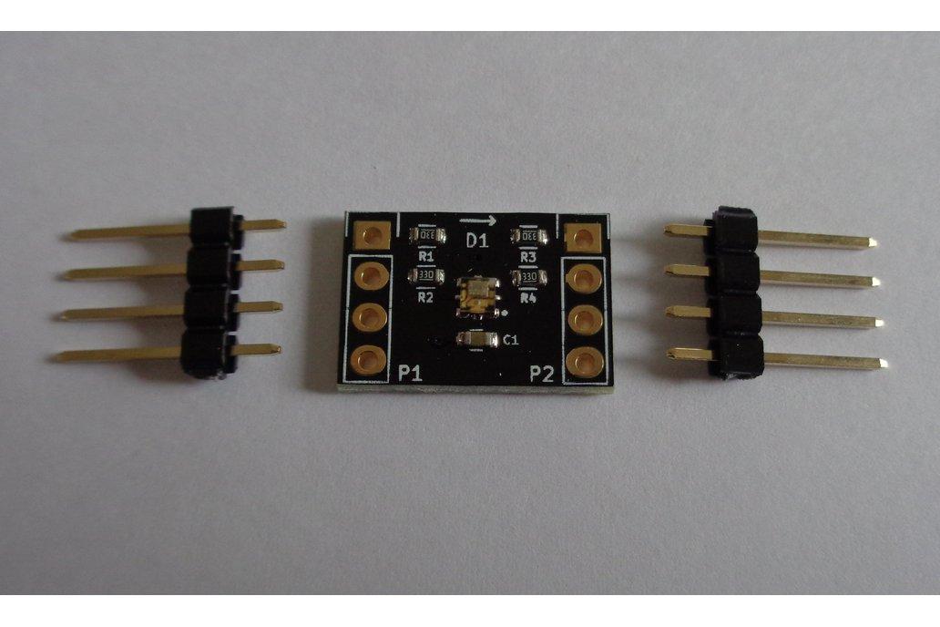 APA102-2020 single RGB LED 2