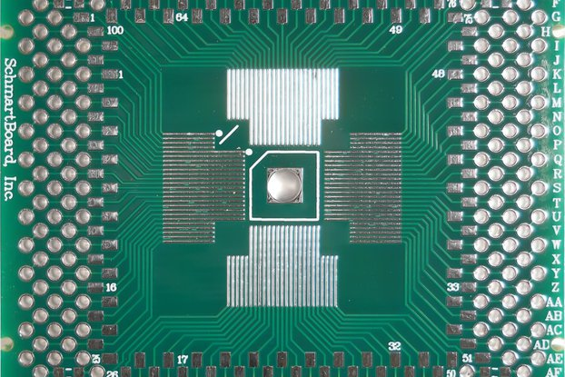 SchmartBoard|ez QFP 64-100 Pins 0.4mm Pitch PCB