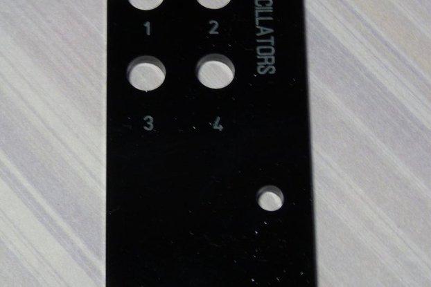XO106: Eurorack drone/noise generator PCB/panel