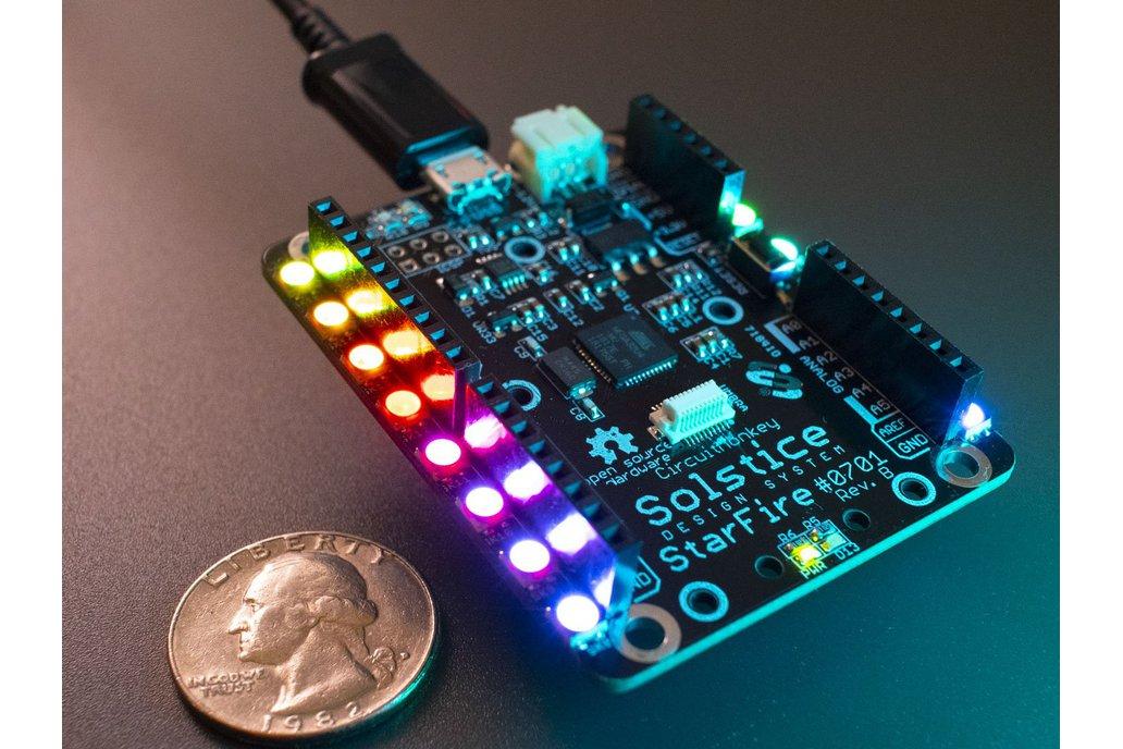 Solstice StarFire 32U4 Microcontroller Module 1